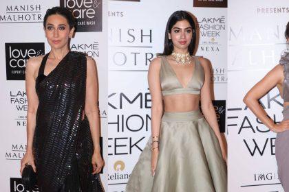 Lakme Fashion Week 2019: दिया मिर्जा-खुशी कपूर का दिखा ग्लैमरस लुक, देखें बॉलीवुड सितारों की धमाकेदार एंट्री
