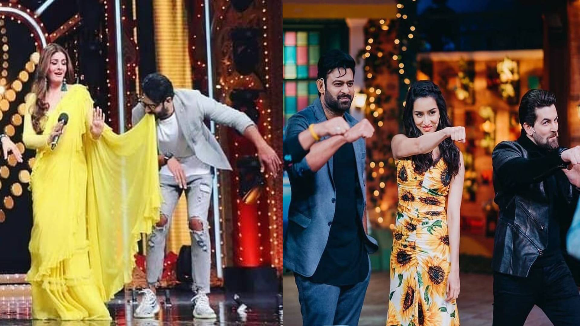 सलमान खान के गाने पर रवीना टंडन संग प्रभास ने किया डांस, द कपिल शर्मा शो में श्रद्धा कपूर संग की जमकर मस्ती