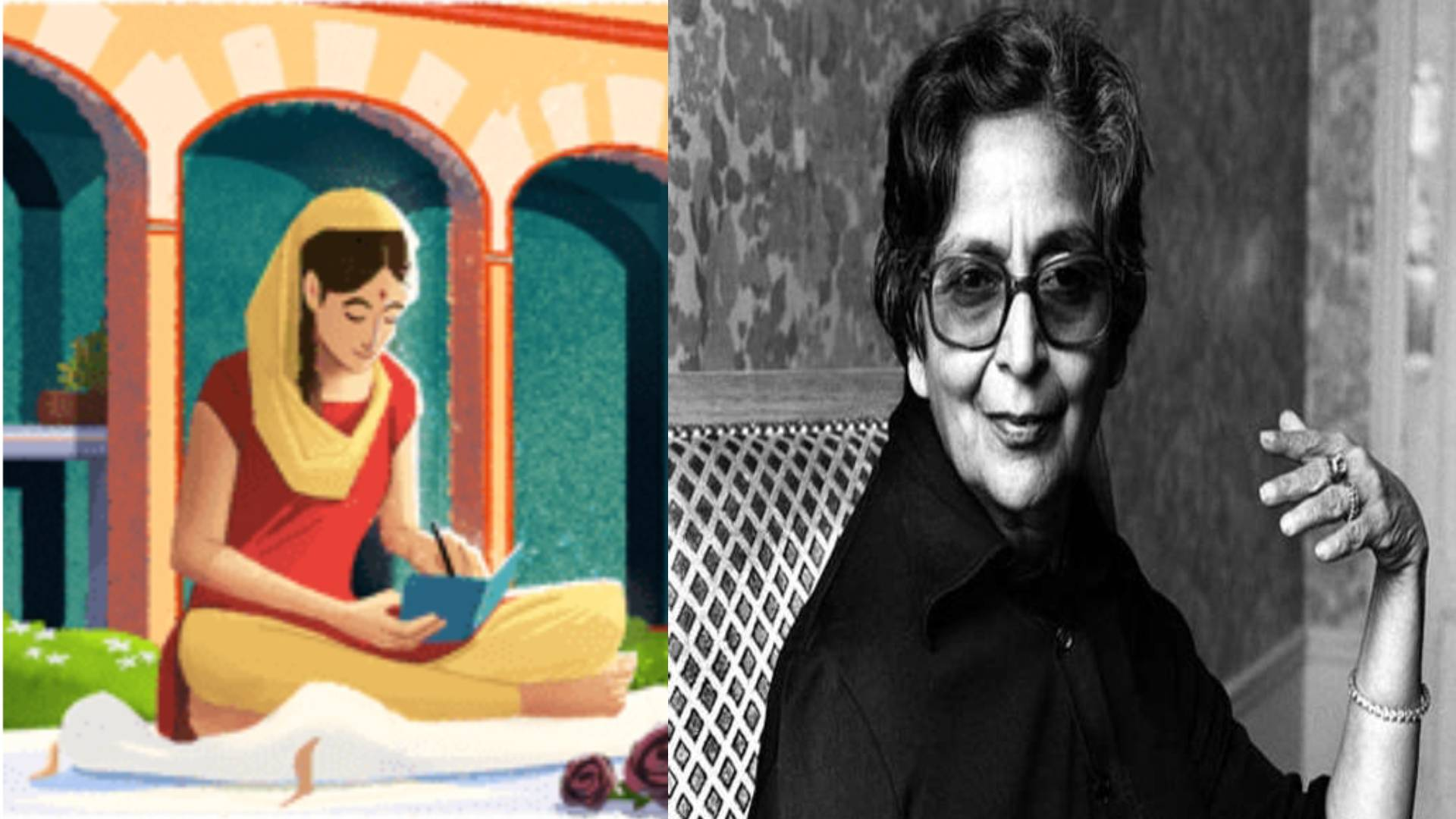 अमृता प्रीतम की 100वीं जयंती पर गूगल ने बनाया ये खास डूडल, जानिए कैसे कलम से लोगों के दिलों में बसी थीं लेखिका
