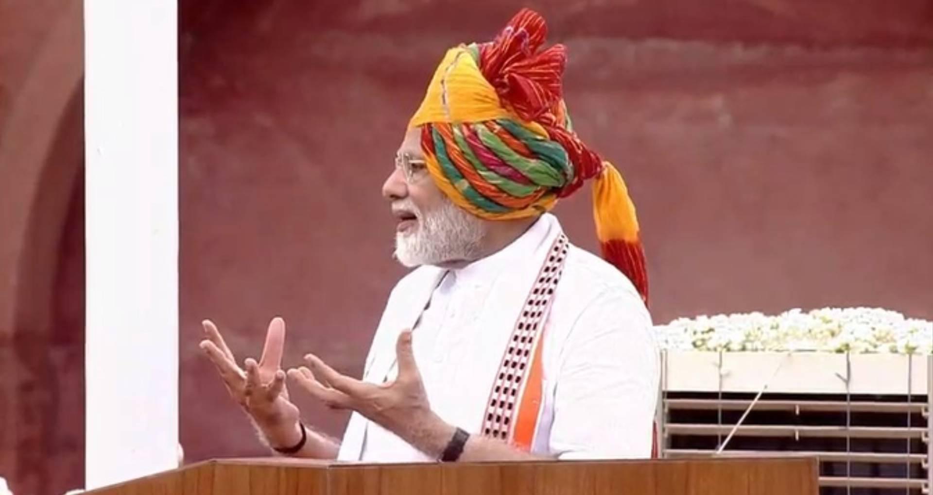 Independence Day 2019: पीएम नरेंद्र मोदी ने देश को किए कई वादे, पानी बचाने के लिए कही ये बातें