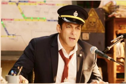 स्टेशन मास्टर के किरदार में बिगबॉस सीजन 13 की सैर कराने को तैयार सलमान खान (फोटो-ट्विटर)