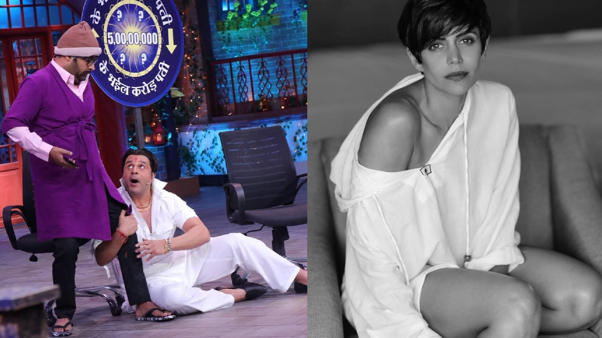The Kapil Sharma Show: प्रभास के सामने कृष्णा ने उड़ाया मंदिरा बेदी का मजाक, एक्ट्रेस की फिट बॉडी पर मारा ताना