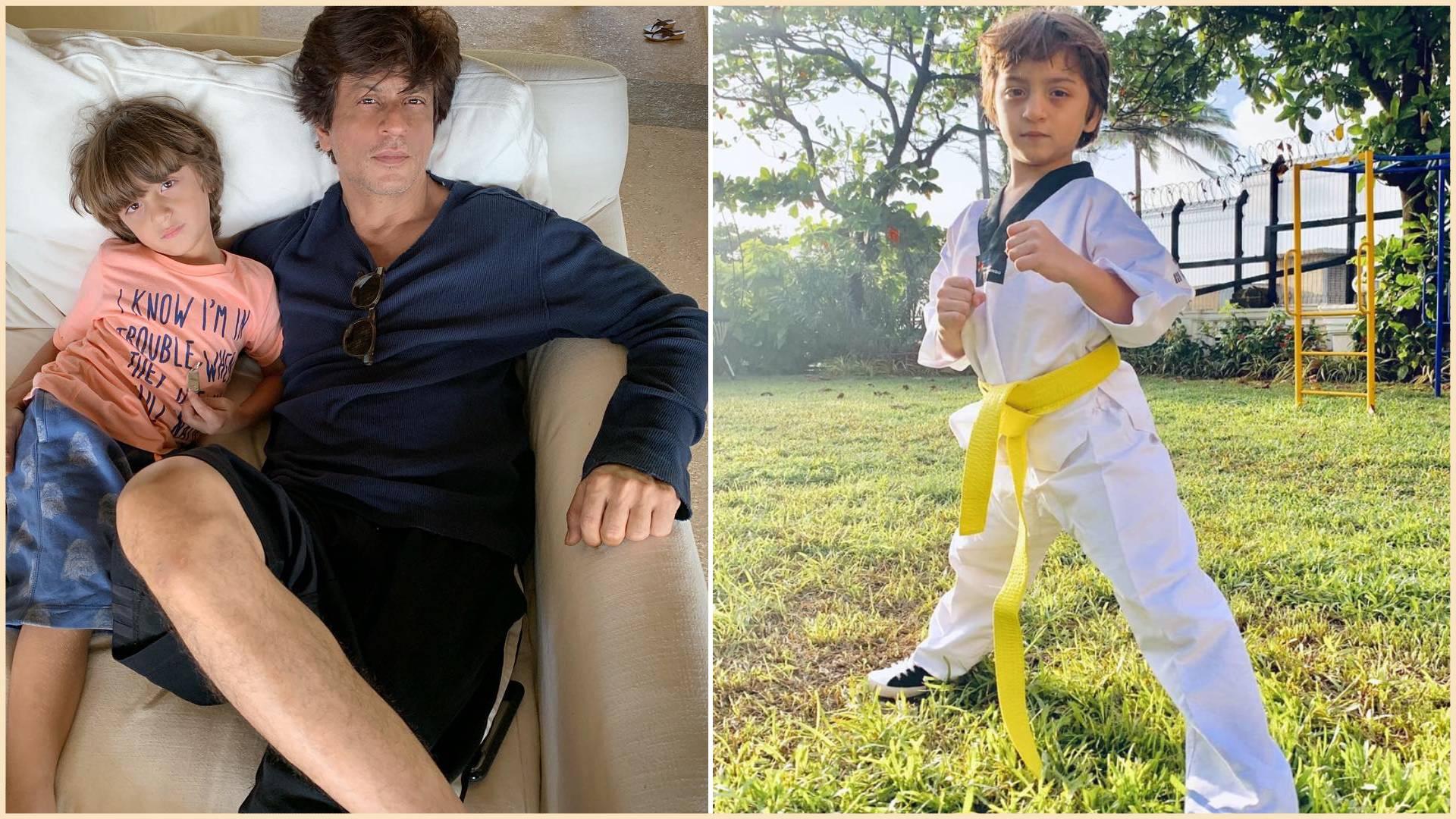 खान परिवार की परंपरा आगे बढ़ा रहे हैं शाहरुख खान के लाडले अबराम, ताइक्वांडो में मिली येलो बेल्ट, वीडियो वायरल