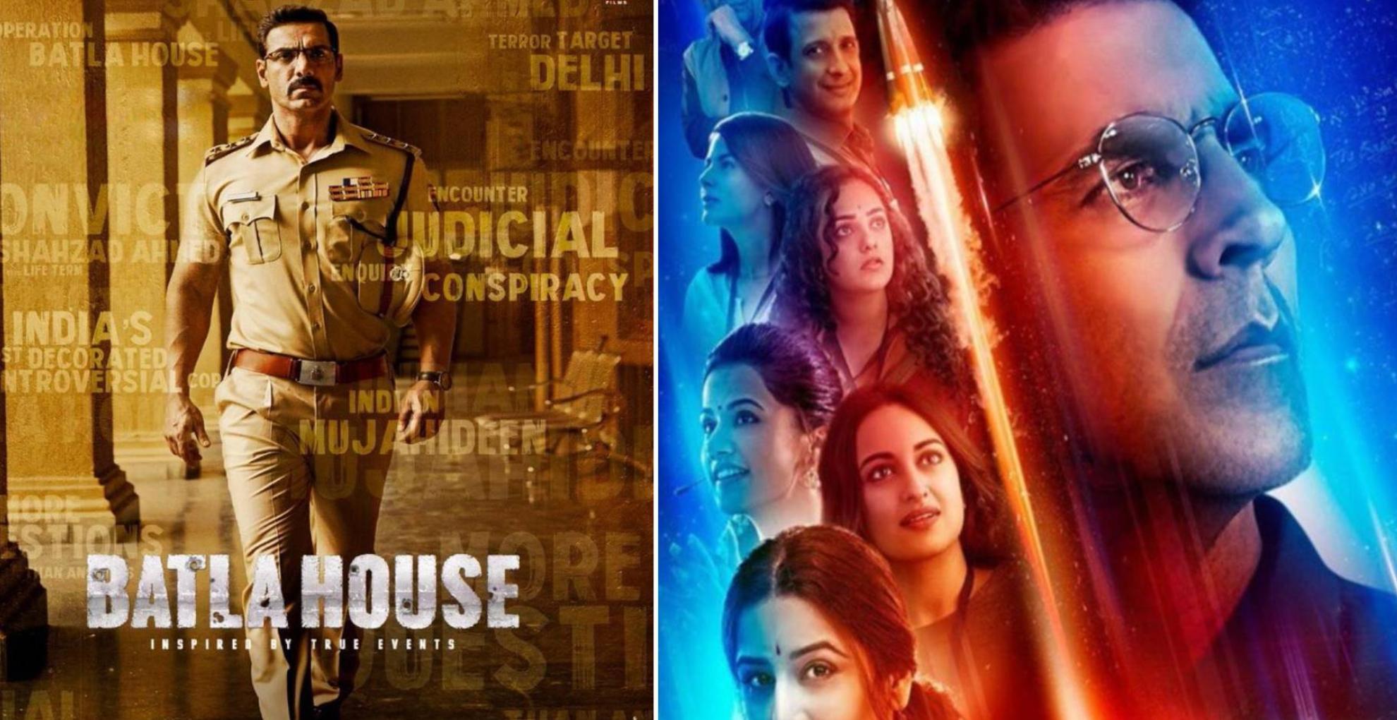 Box Office Weekly Collection: मिशन मंगल और बाटला हाउस के बीच जानिए किस फिल्म ने कमाई के मामले में मारी बाजी