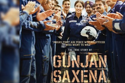Gunjan Saxena The Kargil Girl Poster