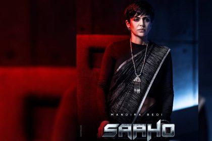 Saaho Mandira Bedi Look