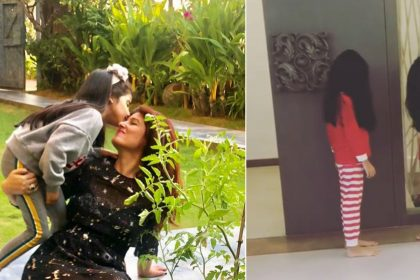 Twinkle Khanna shares video of daughter Nitara Kumar and her friend recreates scenes from horror films