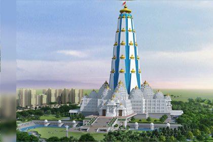 Vrindavan Chandrodaya Mandir World Tallest Temple of Lord Krishna Janmashtami 2019 Chandrodaya Mandir Mathura