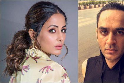 हिना खान और विकास गुप्ता की तस्वीर (फोटो इंस्टाग्राम)