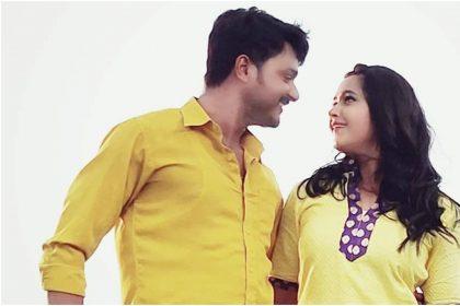 गौरव झा और काजल राघवानी की तस्वीर (फोटो इंस्टाग्राम)