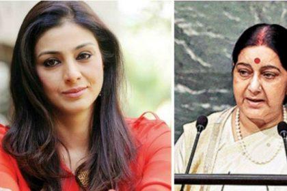 sushma swaraj tabu