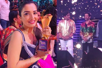 Amrapali Dubey Best Actress Award