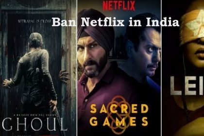 Ban netflix in india