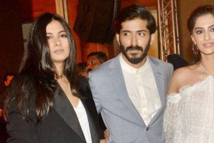 Harshvarrdhan Kapoor, Sonam Kapoor, Rhea Kapoor