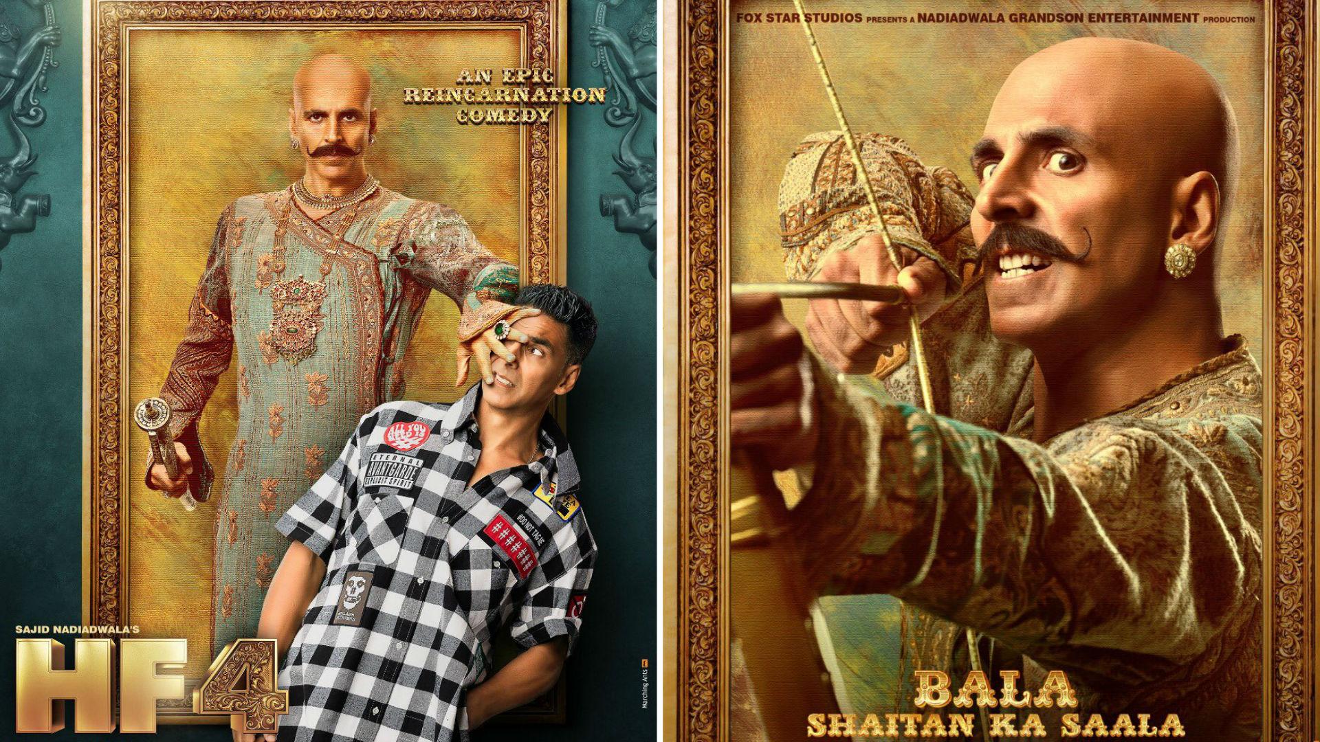 Housefull 4 Movie: अक्षय कुमार ने शेयर किए फिल्म के फर्स्ट लुक पोस्टर, इस मूवी में होगी पुनर्जन्म की कहानी