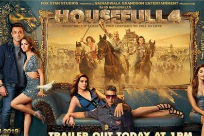 Housefull 4 Movie Trailer