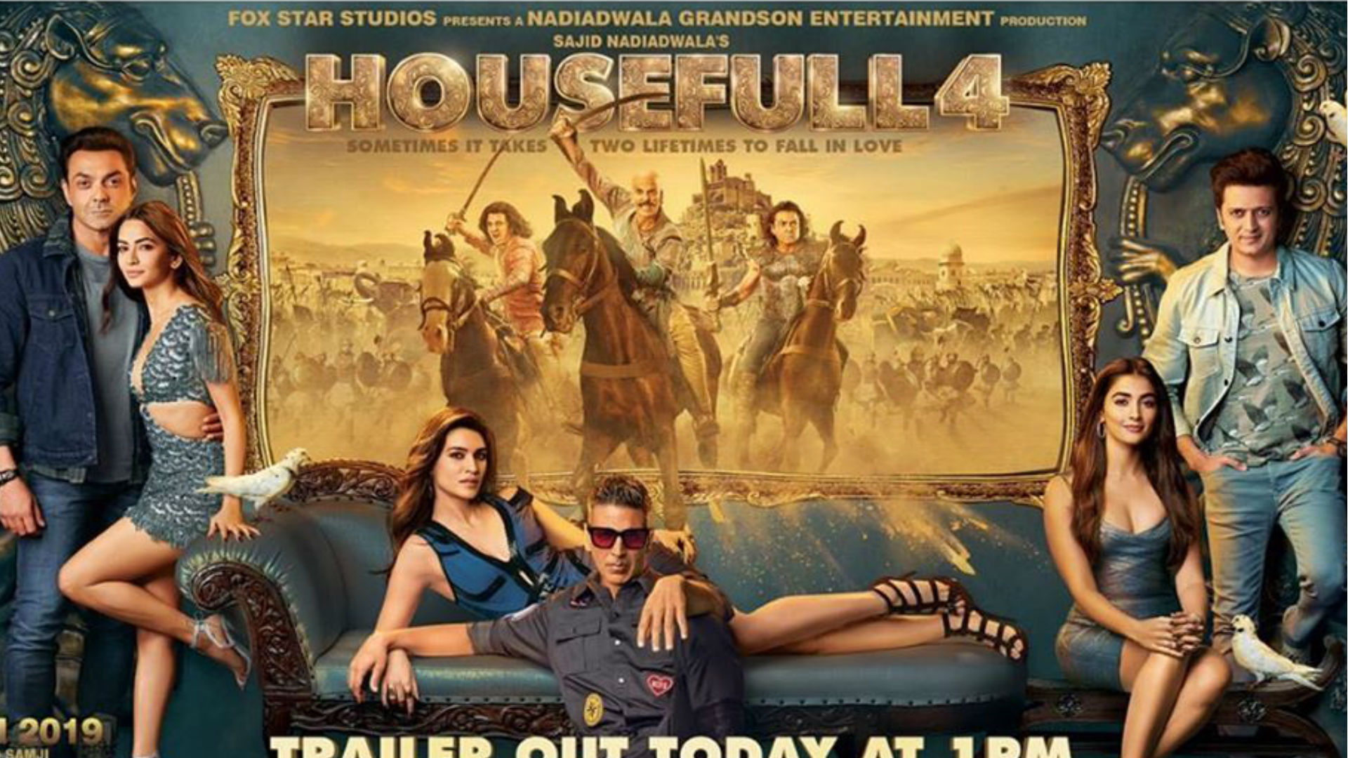 Housefull 4 Movie Trailer: हाउसफुल 4 का धमाकेदार ट्रेलर रिलीज, कॉमेडी का ओवरडोज है ये फिल्म
