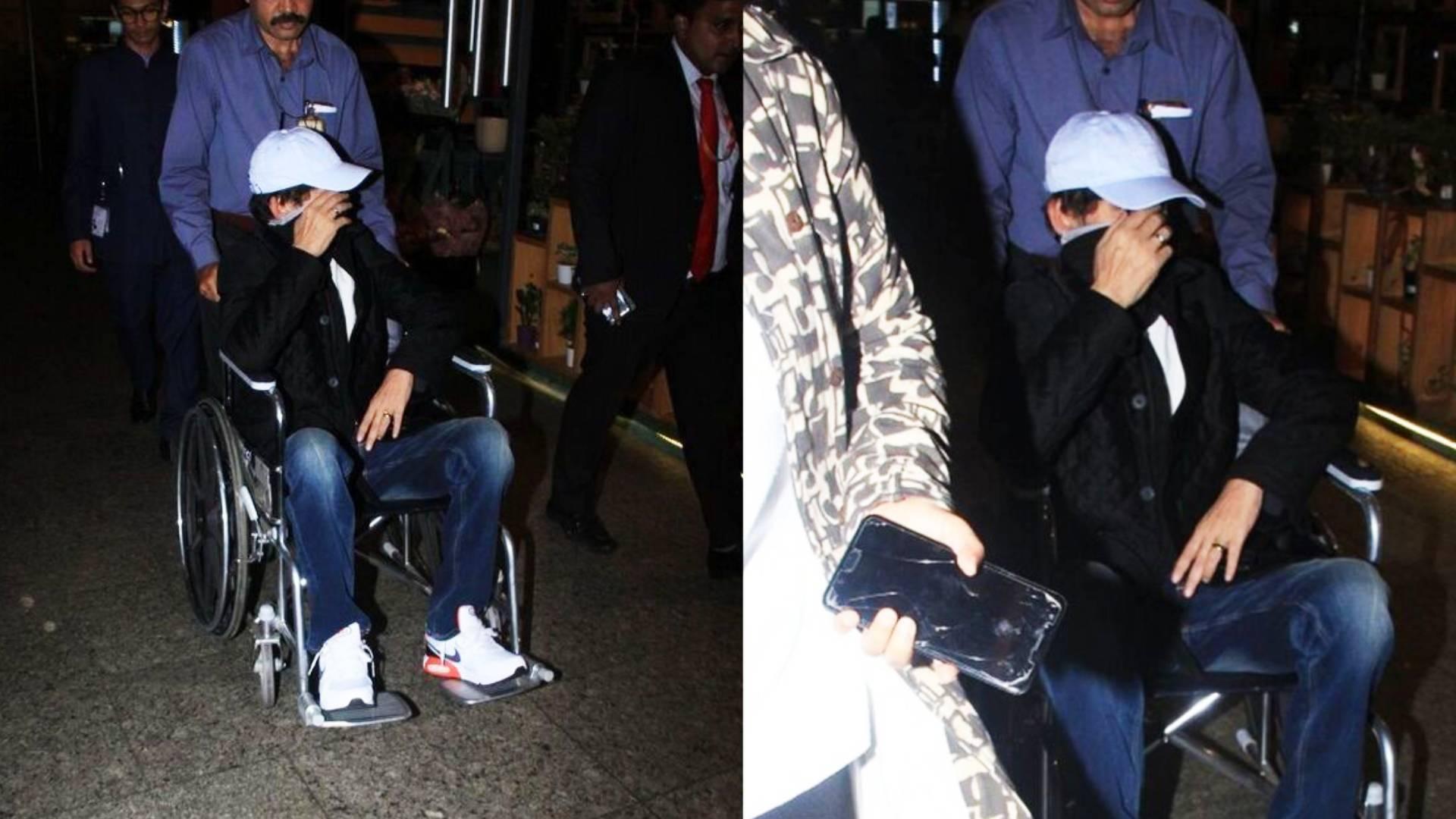 … तो इस वजह से इरफ़ान खान ने मीडिया को देख छुपाया अपना चेहरा, मुंबई एयरपोर्ट पर व्हीलचेयर पर बैठे आए नजर