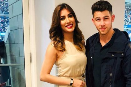 Mehwish Hayat With Nick Jonas