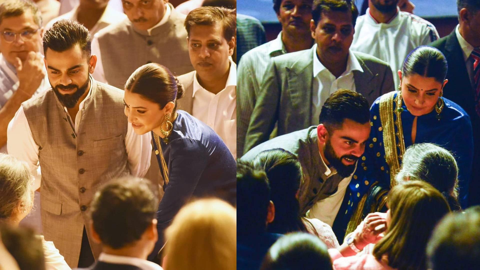 विराट कोहली की जिंदगी का ये किस्सा सुन इमोशनल हुईं अनुष्का शर्मा, पति का हाथ पकड़ यूं किया KISS, वीडियो वायरल