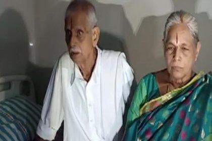 74 Years woman gave birth to twins