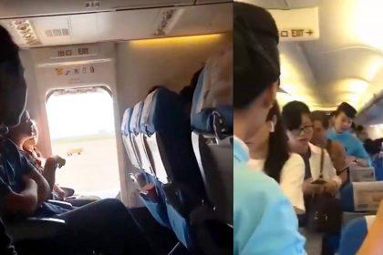 महिला ने की अजीबोगरीब हरकत (फोटो-फेसबुक)