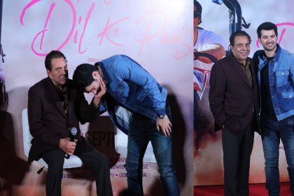 Dharmendra launches pal pal dil ke pass trailer