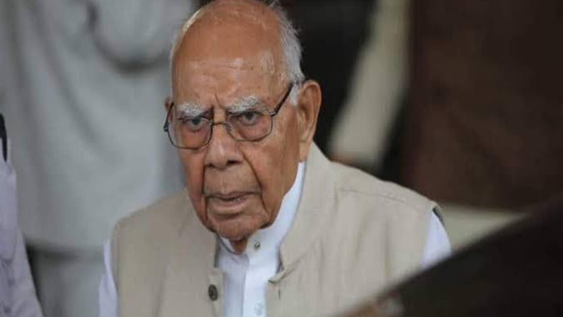 मशहूर वकील राम जेठमलानी का 95 साल की उम्र में निधन, पीएम नरेंद्र मोदी ने जताया शोक
