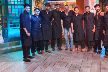 Sanjay Dutt on the kapil sharma show
