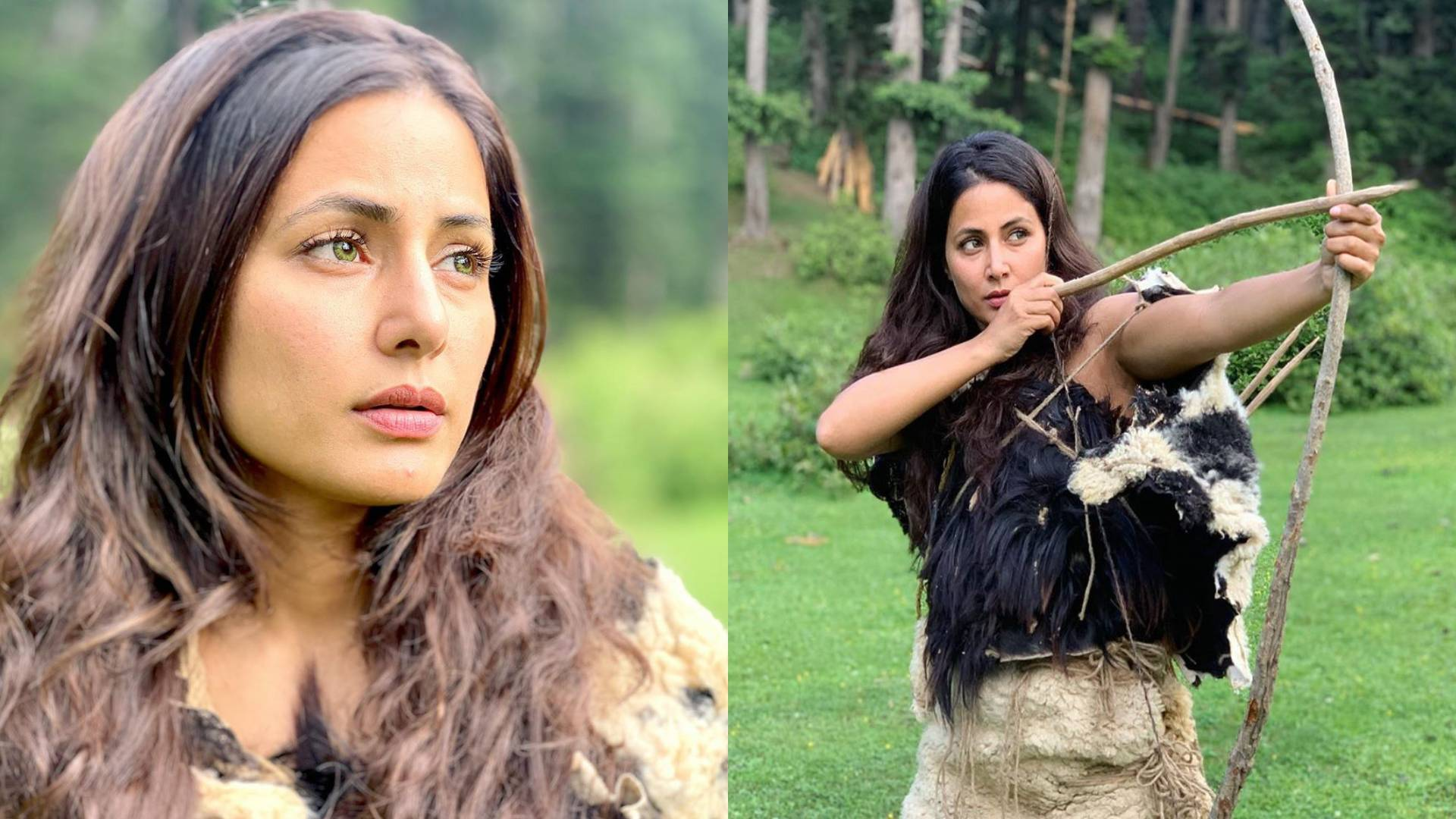 हिना खान इंडो- हॉलीवुड फिल्म कंट्री ऑफ ब्लाइंड में निभाएंगी ये किरदार, हाथ में धनुष लिए शिकार करती आईं नजर