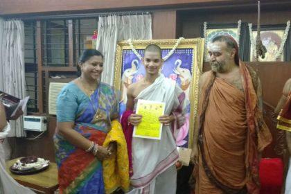 PM Narendra Modi congratulates Priyavrata who is youngest to passed Mahapariksha