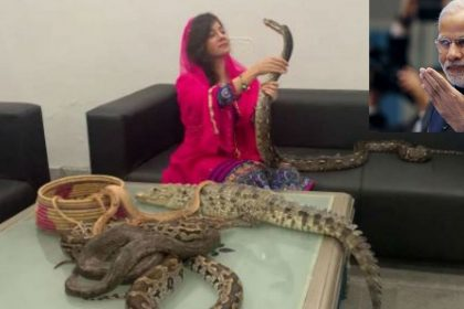 Pakistani singer Rabi Pirzada gave death threat to PM Narendra Modi by poisonous snake Jammu Kashmir Article 370