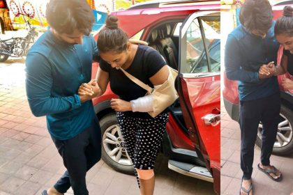 Rani Chatterjee Accident Photos