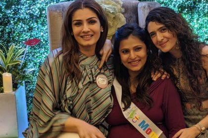 Raveena tondan With Daughter Chhaya