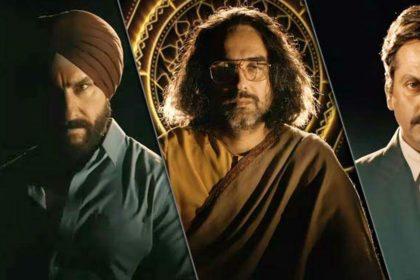 Sacred Games 2, Saif Ali Khan, Nawazuddin Siddiqui, Pankaj Tripathi