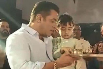 Salman Khan, Ganesh Chaturthi, Ahil Sharma