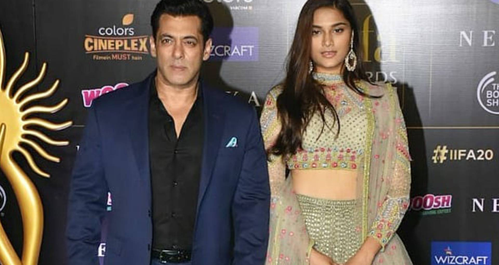 Image result for iifa dog entry with salman khan