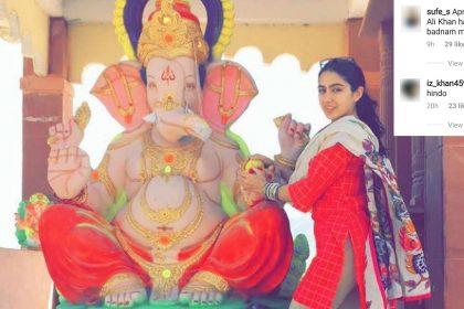 Sara Ali Khan, Ganesh Chaturthi