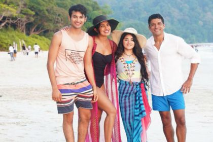 The Sky Is Pink Movie, Priyanka Chopra, Farhan Akhtar, Zaira Wasim, Rohit Saraf