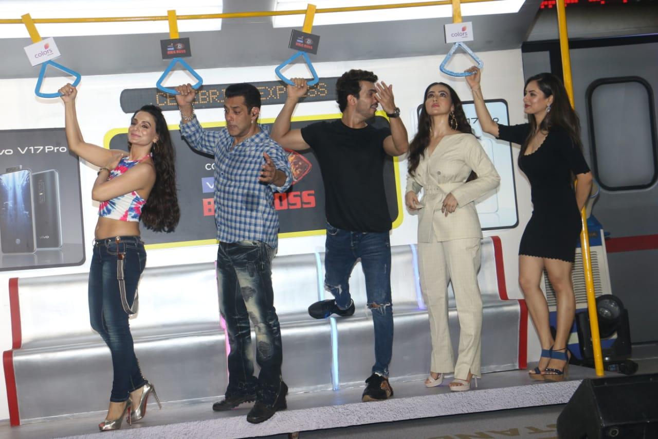 Salman Khan With TV Stars