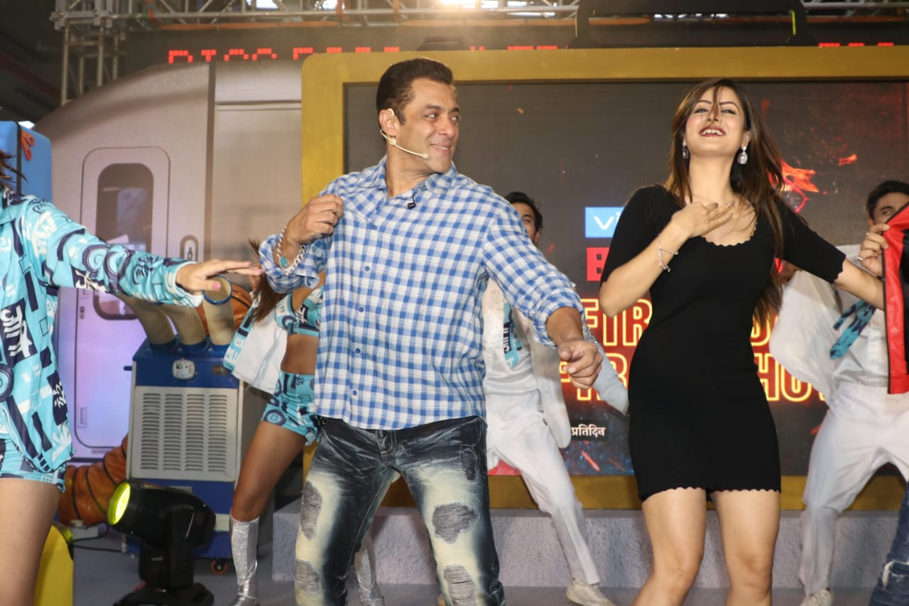 Salman Khan Dance Bigg Boss 13