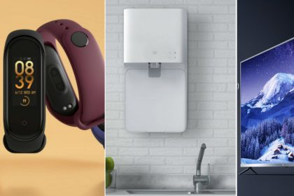 Xiaomi launched smart tv Mi Band Water Purifier Sound bar Motion Activated Night Light price availability