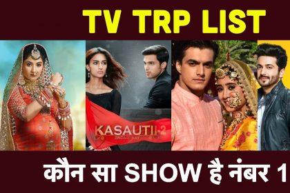 TV TRP Report: छोटी सरदारनी ने पहली बार मारी टीआरपी लिस्ट में एंट्री, कुंडली भाग्य को हासिल हुई ये पोजीशन