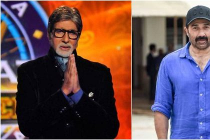 अमिताभ बच्चन और सनी देओल (फोटो इंस्टाग्राम)