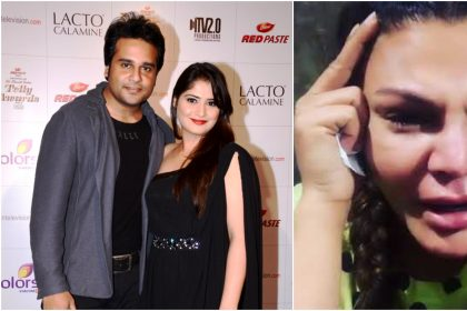 कृष्णा अभिषेक, आरती सिंह और राखी सावंत (फोटो इंस्टाग्राम)