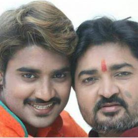 चिंटू पांडे अपने पिता राजकुमार के साथ (फोटो इंस्टाग्राम)
