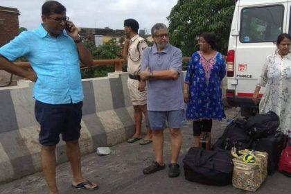 Bihar Floods Deputy CM Nitish Kumar