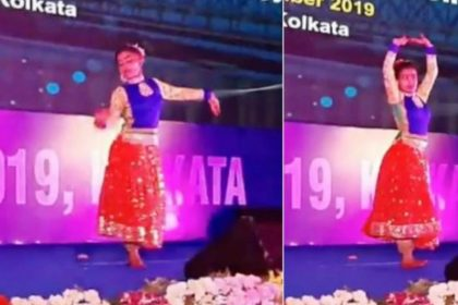Girl who lost a leg to cancer dance video viral on social media Vidya Balan movie song