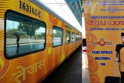 Lucknow Delhi Tejas Express train tejas train hostess