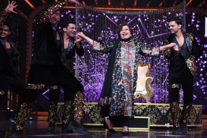 Nach Baliye 9 special guest Helen got emotional on the show Salman Khan show producer